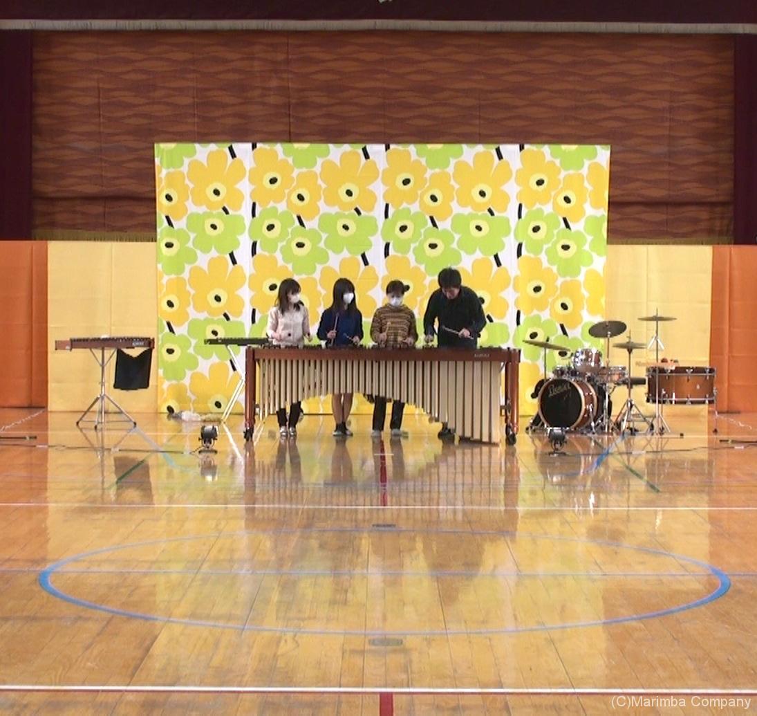 小学校音楽鑑賞会リハーサル