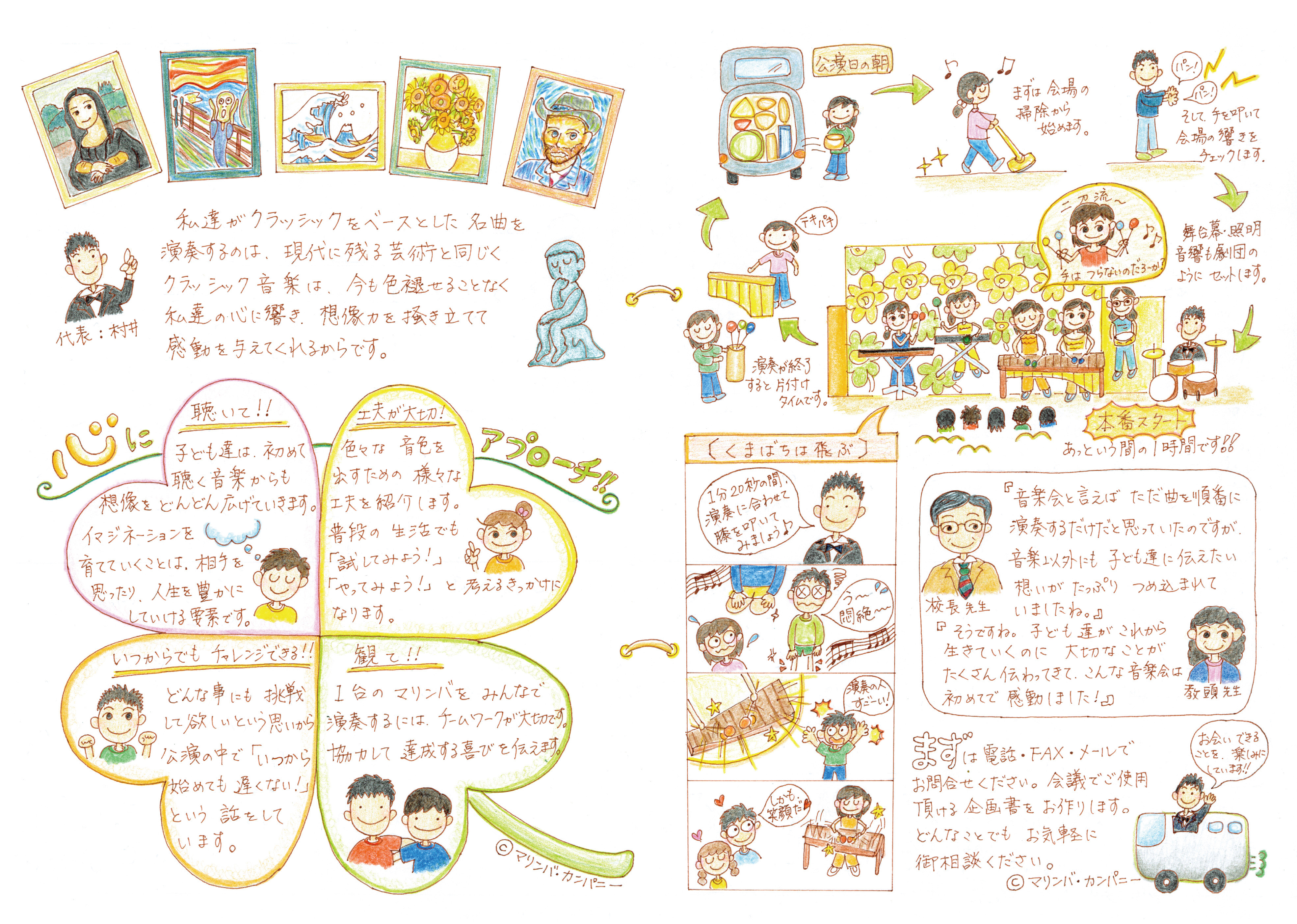 絵日記学校公演